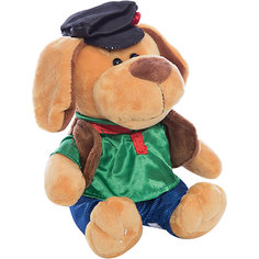 Собака в кепке, 15см Teddy