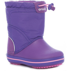 Сноубутсы Crocband LodgePoint Boot K для девочки Crocs
