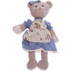 """Мягкая игрушка Angel Collection """"Мишка Машенька в голубом"""", 23 см"""