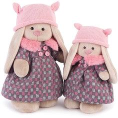 Зайка Ми в пальто и розовой шапке (малый) Budi Basa