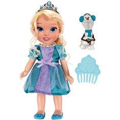 "Кукла-малышка ""Холодное Сердце"" со снеговиком - Эльза, 15 см Jakks Pacific"