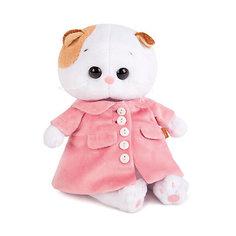 Мягкая игрушка Budi Basa Кошка Ли-Ли Baby в розовом пальто, 20 см
