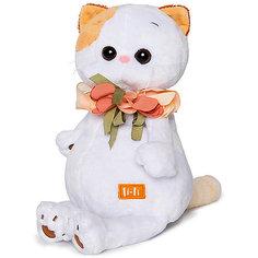 Мягкая игрушка Budi Basa Кошка Ли-Ли с цветами из шелка, 24 см