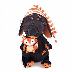 Мягкая игрушка Budi Basa Ваксон в колпачке и с лисичкой, 25 см