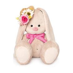 Мягкая игрушка Budi Basa Зайка Ми в соломенной шляпке, 18 см