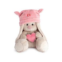 Зайка Ми в розовой шапке с сердечком (малыш) Budi Basa