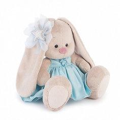 Мягкая игрушка Budi Basa Зайка Ми в голубом платье со звездой, 18 см