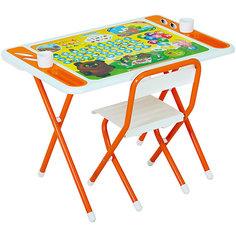 """Набор мебели """"Винни-Пух"""", Дэми, бело-оранжевый"""