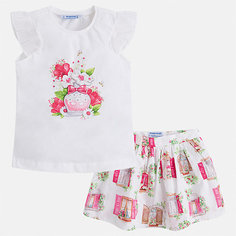 Комплект: юбка Mayoral для девочки