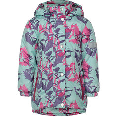 Куртка Цветы JICCO BY OLDOS для девочки