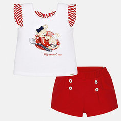 Комплект:шорты,футболка Mayoral для девочки