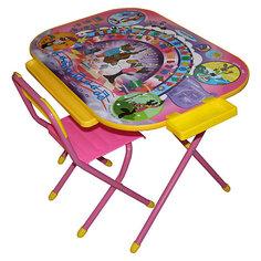 """Набор мебели """"Ну, погоди!"""" (3-7 лет), Дэми, розовый"""