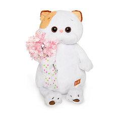 Мягкая игрушка Budi Basa Кошечка Ли Ли с букетом, 24 см