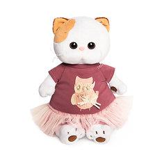 Мягкая игрушка Budi Basa Кошечка Ли Ли в платье с совой, 24 см