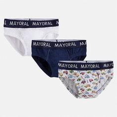 Комплект:3 пары трусов Mayoral для мальчика