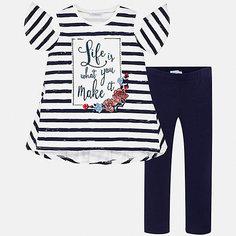 Комплект:леггинсы,футболка Mayoral для девочки