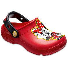 """Сабо """"Minnie Mouse"""" CROCS для девочки"""