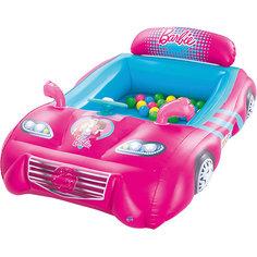 Игровой центр Машина с 25 шариками, Barbie, Bestway