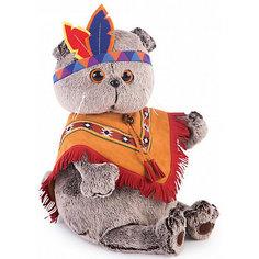 Мягкая игрушка Budi Basa Кот Басик в костюме индейца, 19 см