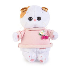 Мягкая игрушка Budi Basa Кошка Ли-Ли Baby в толстовке, 20 см