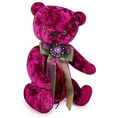 Мягкая игрушка Budi Basa Медведь БернАрт пурпурный, 30 см