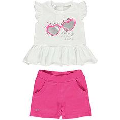 Комплект: футболка, шорты iDO для девочки