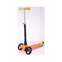 Детский трехколесный самокат Mini, оранжевый Buggy Boom