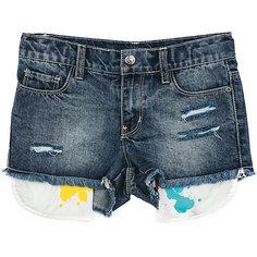 Шорты джинсовые для девочки Scool S`Cool