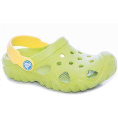 Сабо Kids Classic, CROCS, зеленый