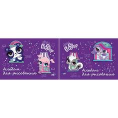 Альбом для рисования, 20 листов, Littlest Pet Shop Академия групп