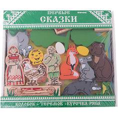 """Конструктор """"Первые сказки"""" 3 в 1,Томик"""