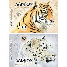 """Альбом для рисования """"Wild Cats"""", А4, 40 л. Erich Krause"""