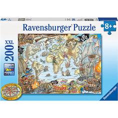 Пазл «Пиратская карта» XXL 200 шт Ravensburger