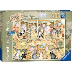 Пазл «Коты на карусели» 500 шт Ravensburger