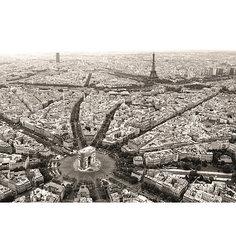 Пазл «Черно-белый Париж» 1000 шт Ravensburger