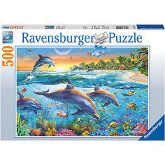 Пазл «Бухта дельфинов» 500 шт Ravensburger