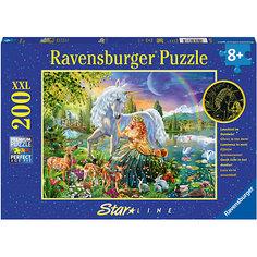 Пазл светящийся «Сказочная красота» XXL 200 шт Ravensburger