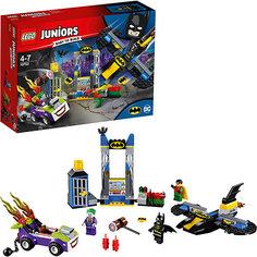 Конструктор LEGO Juniors 10753: Нападение Джокера на Бэтпещеру