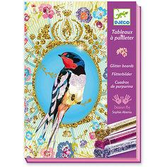 Набор для творчества «Блестящие птицы» Djeco