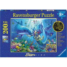 Пазл светящийся «Подводный рай» XXL 200 шт Ravensburger