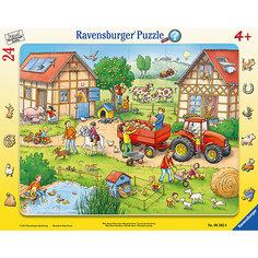 """Пазл """"Жизнь на ферме"""" 24 шт Ravensburger"""