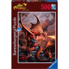 Пазл «Огнедышащие драконы» 500 шт Ravensburger