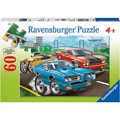 Пазл «Гоночные машины» 60 шт Ravensburger