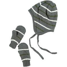 Комплект для мальчика: шапка и варежки name it