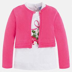 Комплект:блузка,кардиган Mayoral для девочки