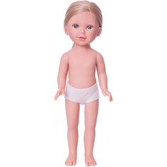 Кукла Паулина, блондинка без челки, Vestida de Azul