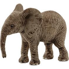 """Коллекционная фигурка Schleich """"Дикие животные"""" Детёныш африканского слона"""