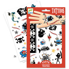 Татуировки Пираты, Djeco