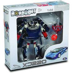 "Робот-трансформер ""Happy Well Jaguar XJ220 Roadbot"", 1:24"