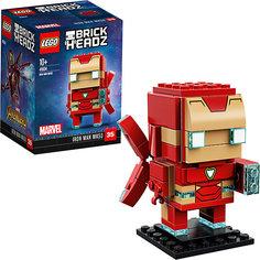 Сборная фигурка LEGO BrickHeadz 41604: Железный человек